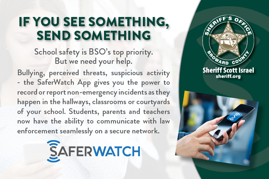 MEDIA ADVISORY SAFERWATCH APP SaferWatch Card Front